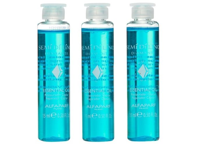 Alfaparf semi di lino ampolla azul como usar